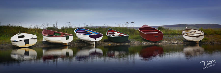 Orkeny Boats, Scotland