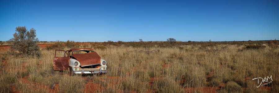 Outback Wreck, Central Australia